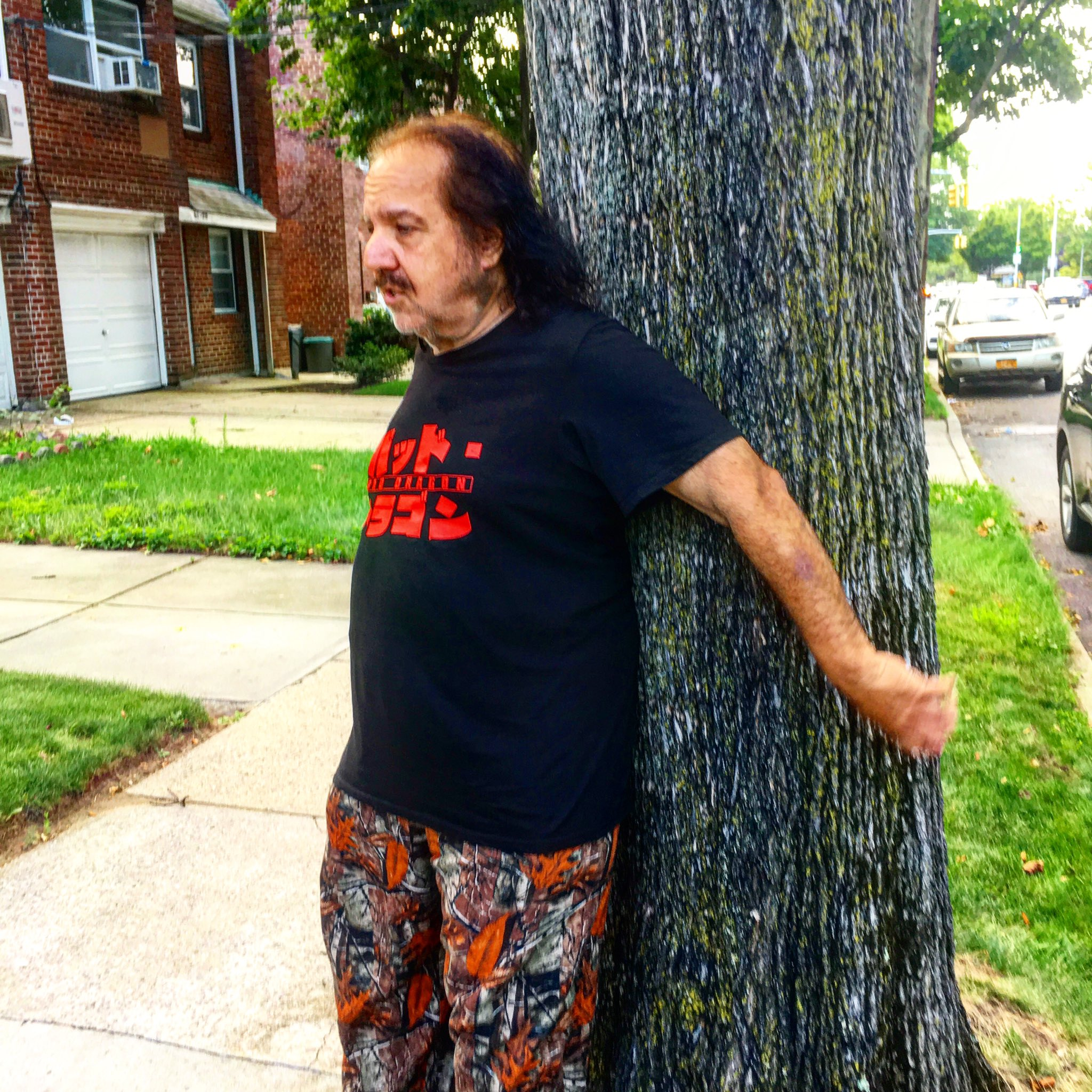 Adult Film Star Ron Jeremy Fighting to Save Tree Outside His Childhood Home in Queens