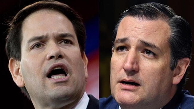 Rubio and Cruz