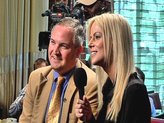 """Michaele and Tareq Salahi Interviewed for """"Q&A Cafe"""""""