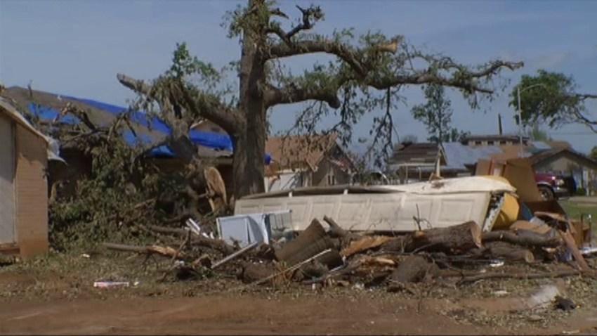 Saturday Arlington TX Tornado Cleanup