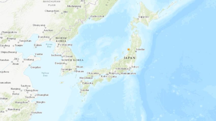 Japan Earthquake USGS