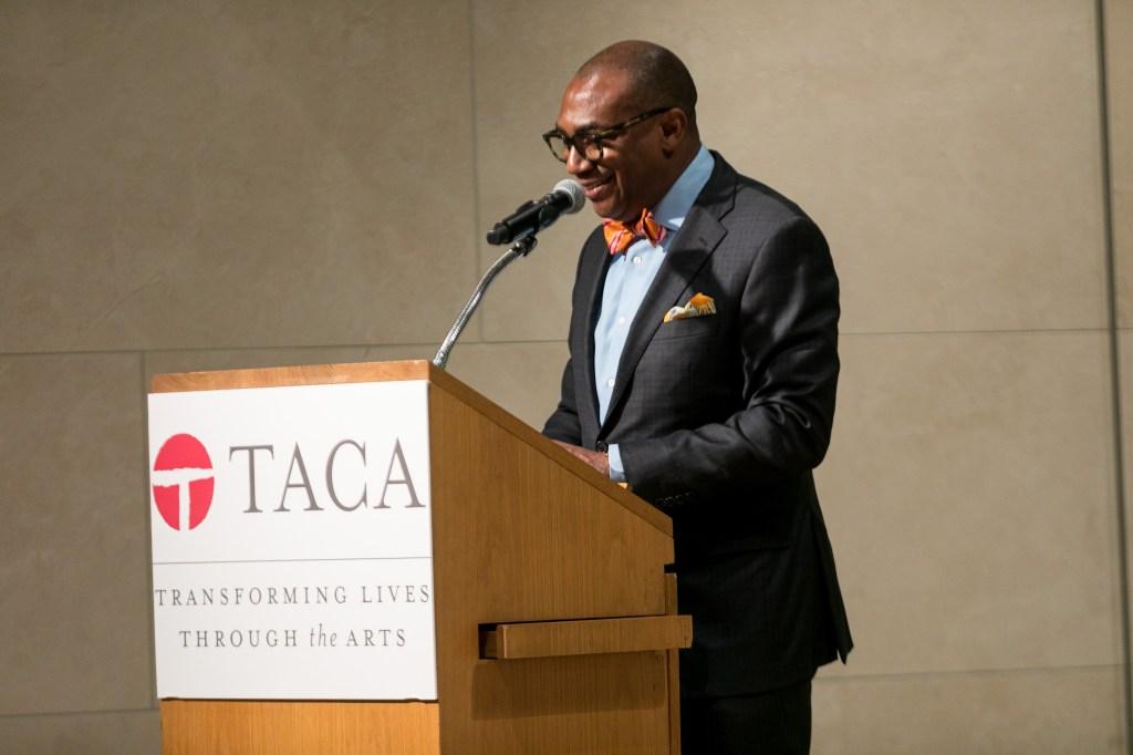 Terry Loftis giving opening remarks at 2019 TACA Perforum