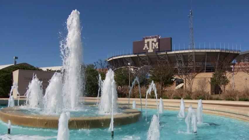 Texas A&M Campus Fountain