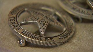 Texas Ranger badges