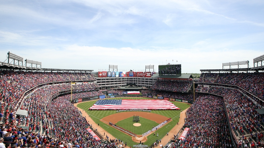 Texas Rangers Opening Day