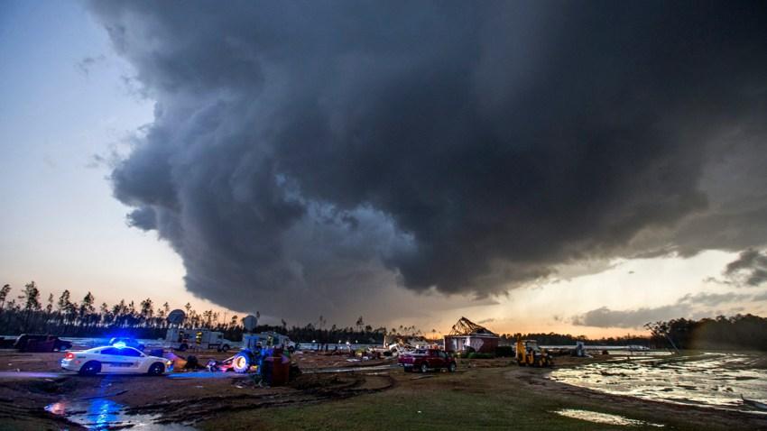 Tornados in south Georgia, USA