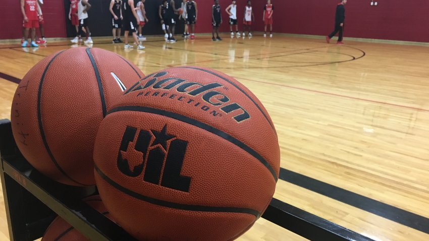 Picture of a UIL brand basketball