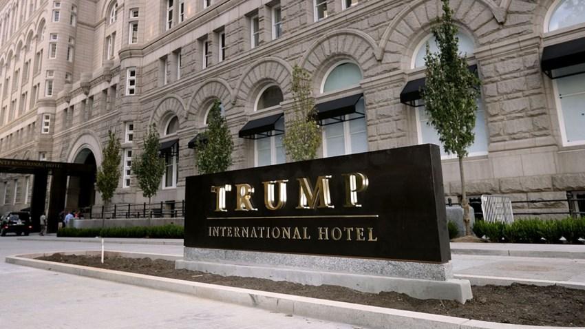 Exterior of the Trump International Hotel