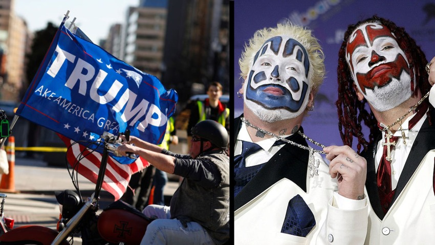Trump Rally and Clowns