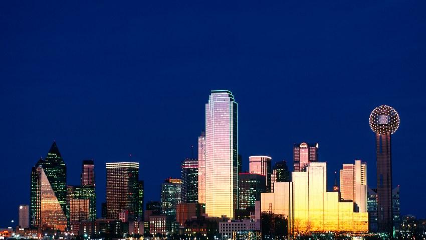 Dallas Skyline at Night