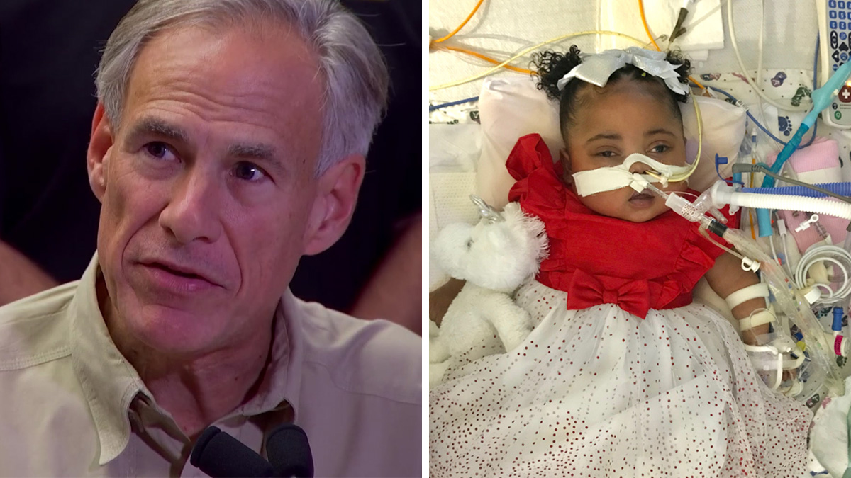 Gov. Abbott, Ken Paxton Back Family of Baby on Life Support With Court Filing