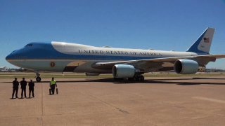 Air Force One at Love Field