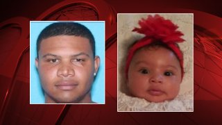 An Amber Alert was issued early Tuesday morning in Gainesville for a 3-month-old girl who police suspect was taken by a 30-year-old man, law enforcement officials say.