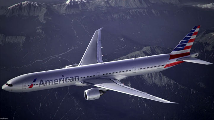 american airlines AA new livery
