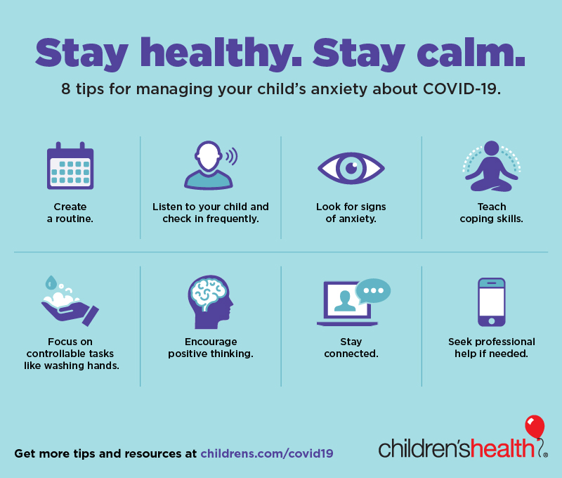 Children At Risk for Anxiety Issues During COVID-19 Crisis ...