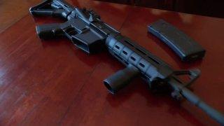 AR-15 style rifle