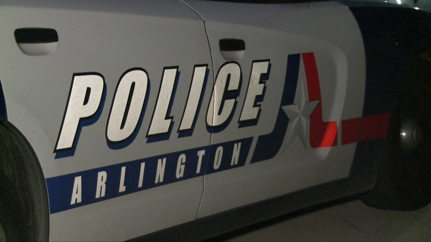 Arlington police department police car