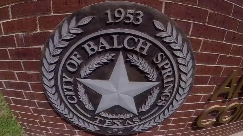 balch springs logo