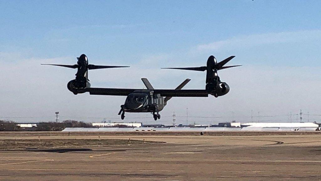 Bell 280 Valor in flight
