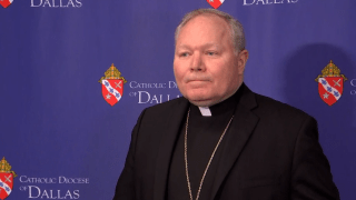 Bishop Edward Burns of the Catholic Diocese of Dallas.