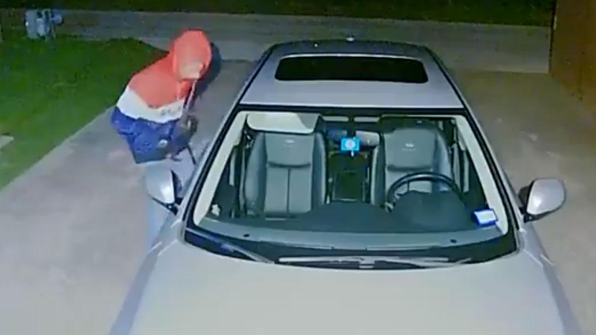 Carrollton Police Seek Help Identifying Car Burglar