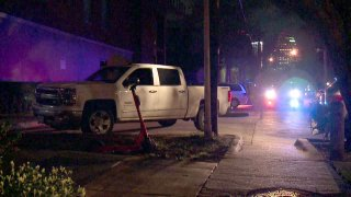 A chase that began in Carrollton ended in Old East Dallas early Friday morning, police say. (Published Feb. 7, 2020)