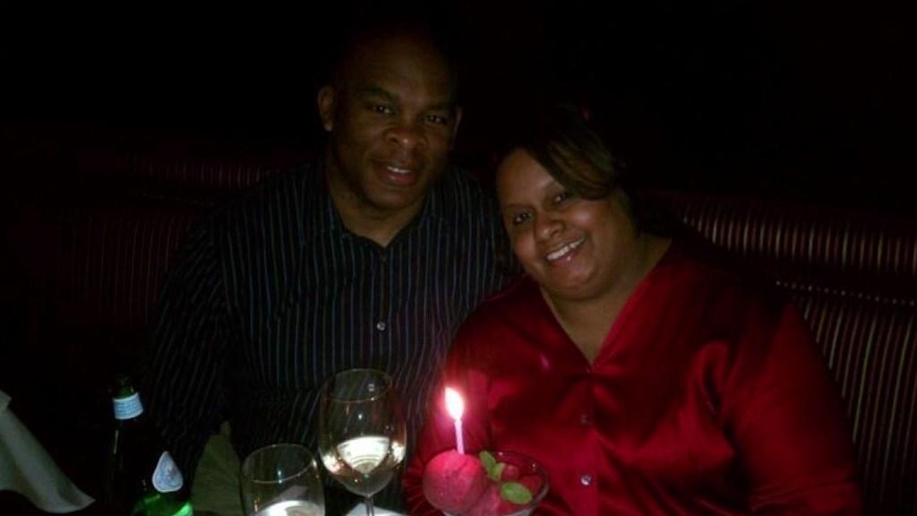 Reggie and Christina Brooks.