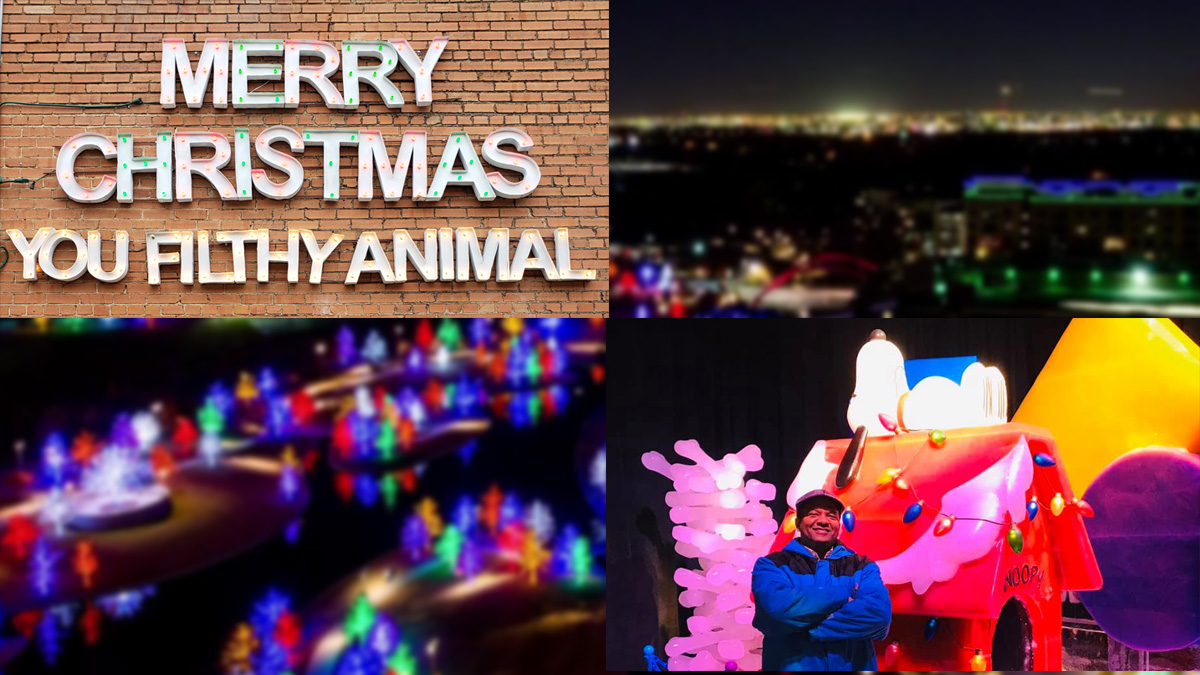 Take Pictures With Your Family at These North Texas Christmas Light Displays