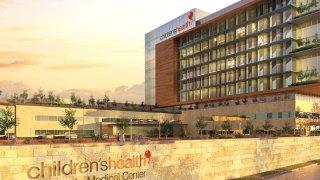 rendering of hospital