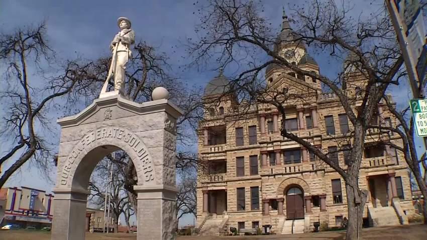Denton County courthouse memorial - Zack Rawlings