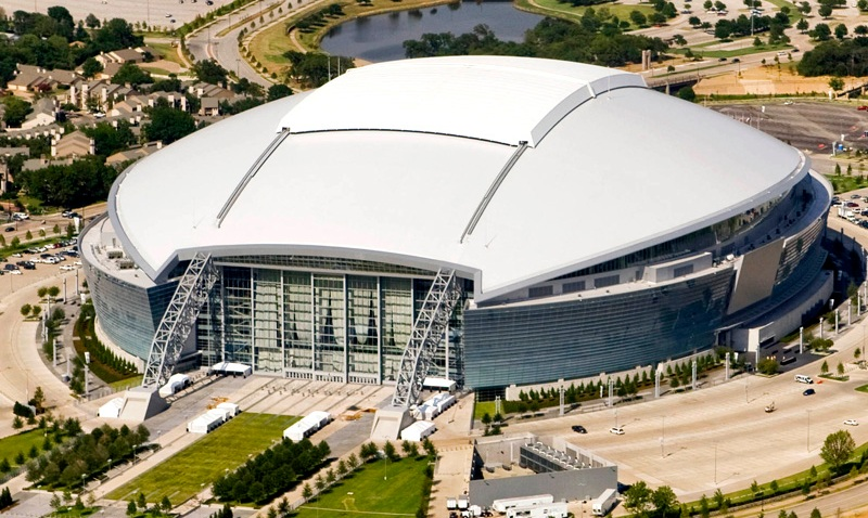 Aerial Cowboys Stadium 2