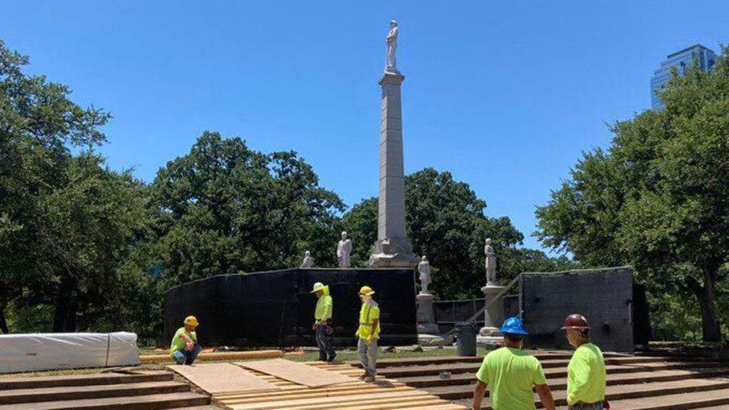 dallas confederate war memorial