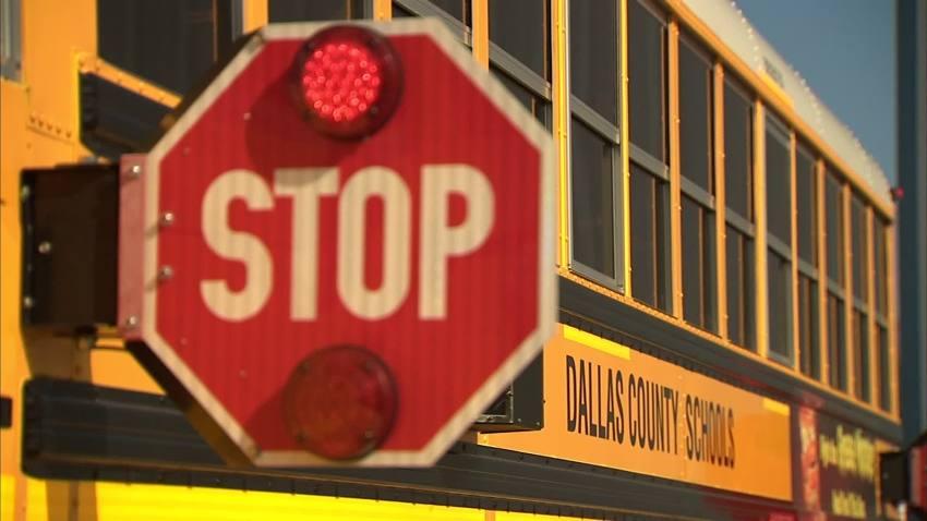 dallas county schools bus