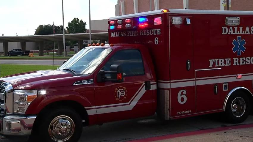 dallas fire ambulance