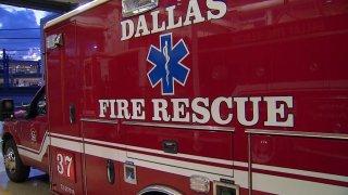 dallas fire rescue ambulance