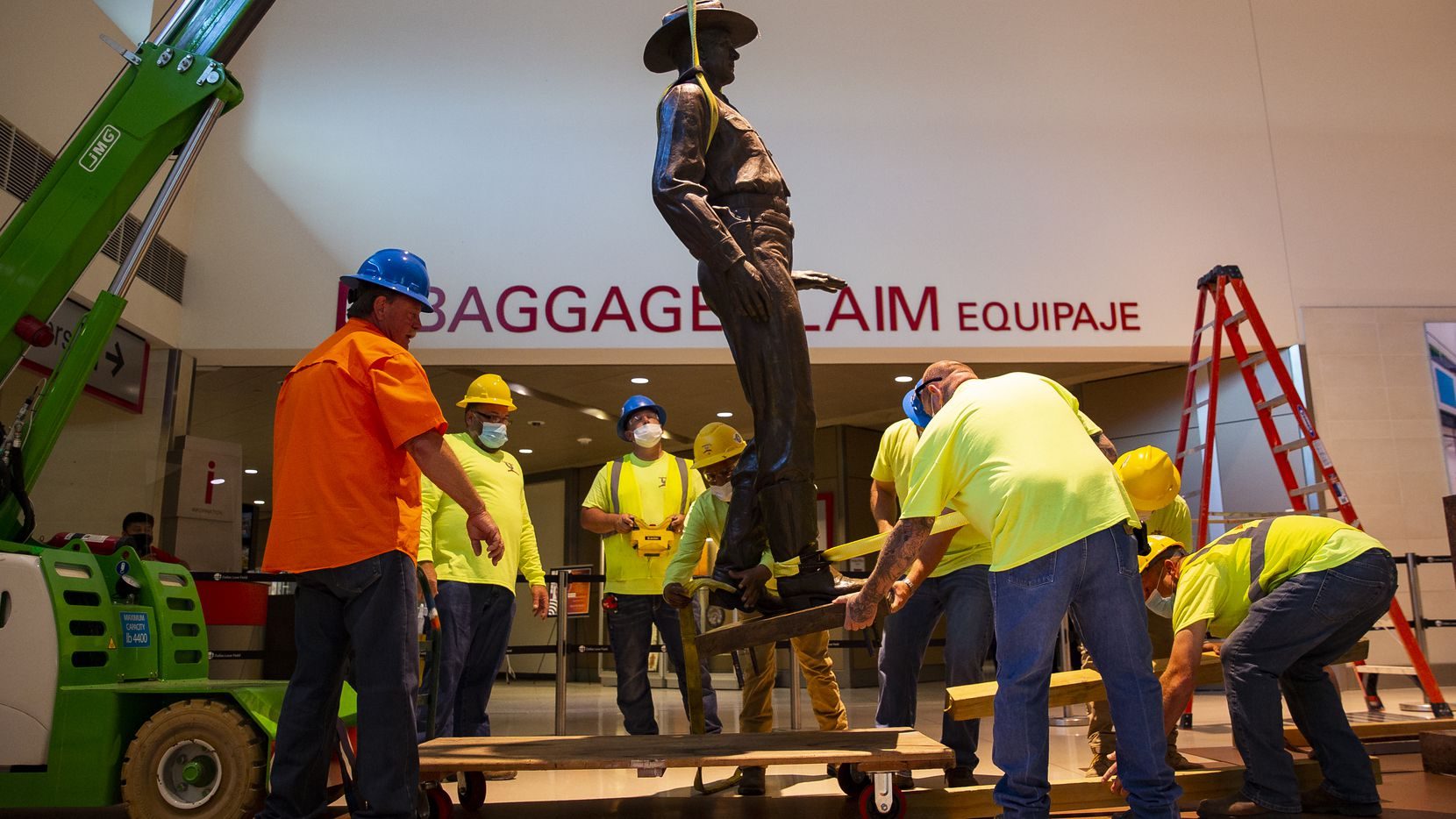 Texas Ranger Statue at Love Field Removed Over Concerns About Racist History
