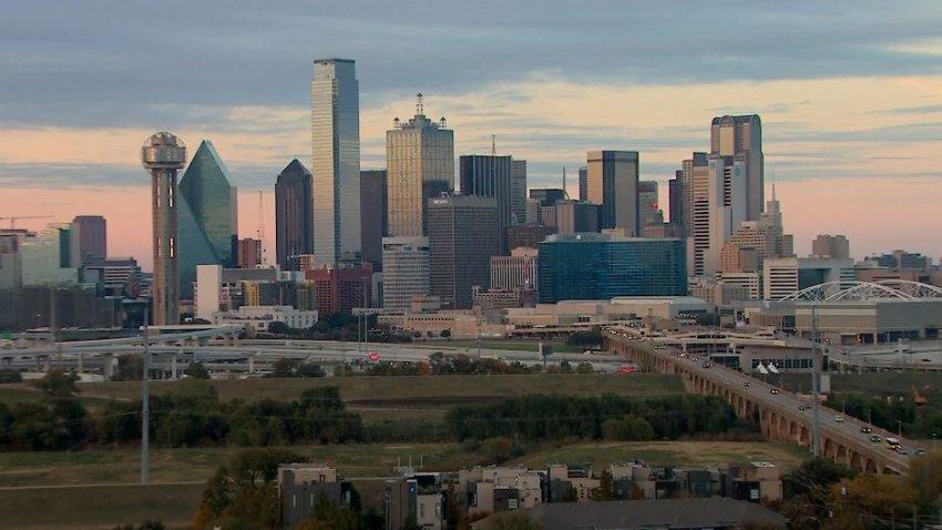 Dallas skyline - GREAT SHOT