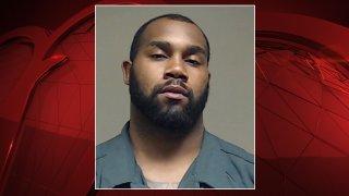 Darren McFadden seen in a jail mugshot