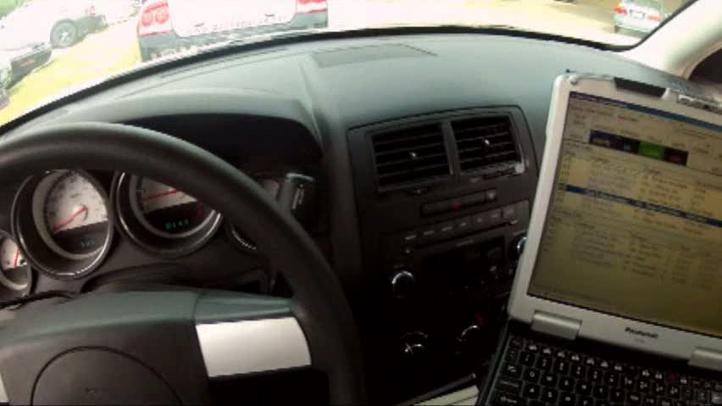 police dashboard computer 110412