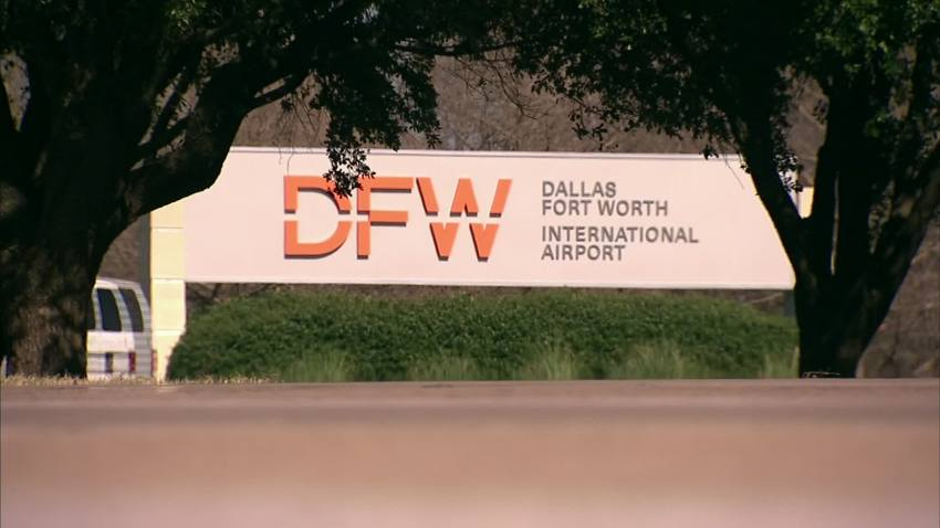 dfw airport sign