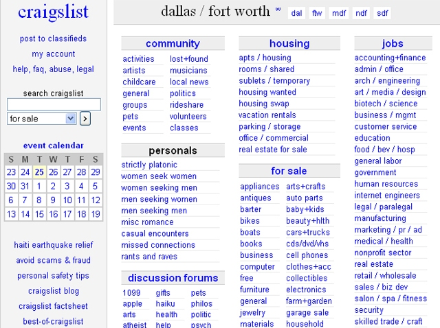 Craigslist Houses For Rent In Fort Worth Texas