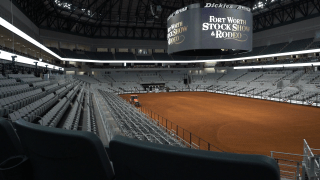 The rodeo portion of the Fort Worth Stock Show and Rodeo's move into its swanky new home in the Dickies Arena means a major upgrade in technology.