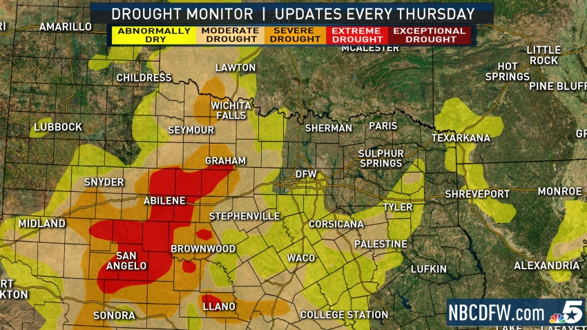 drought monitor update 110819