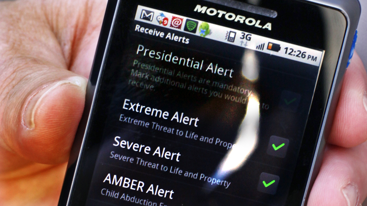 Emergency Phone Alerts