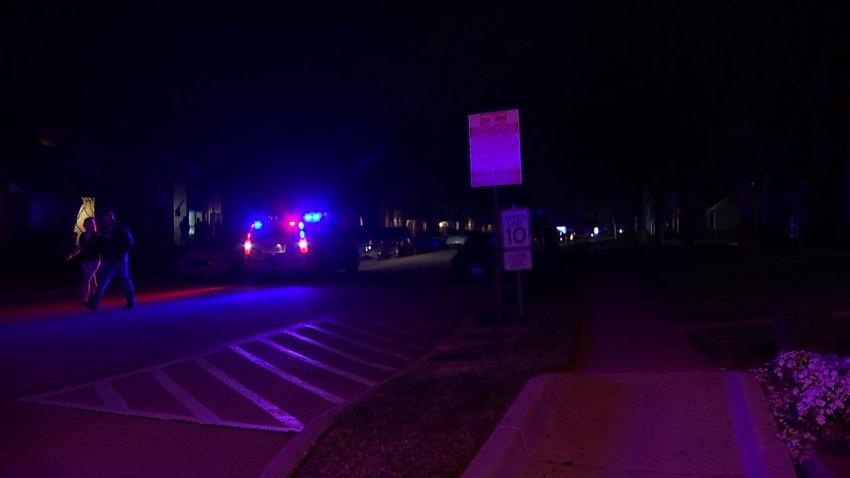 Officers responded about 9 p.m. to the Park Place Town Homes in the 400 block of East Harwood Road, where they found the man with at least one gunshot wound to the chest.