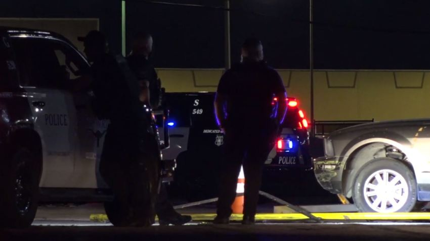 Officers were called about 9:45 p.m. to the 800 block of East Felix Street, where they found the victim with a gunshot wound in the car.