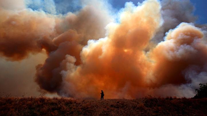 August Western Wildfires