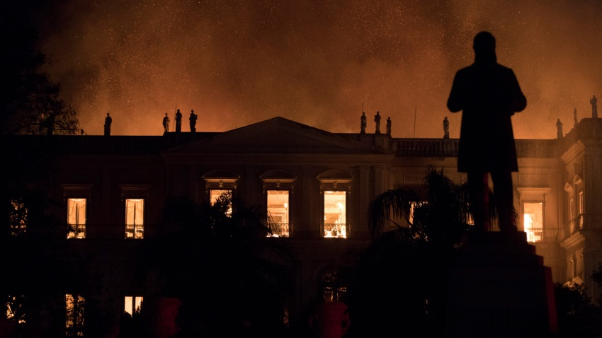 Brazil Museum Fire