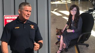 firefighter honored dallas