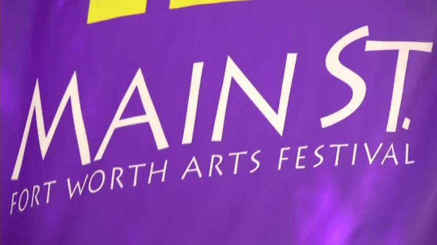 Main Street Arts Festival Opens in Fort Worth